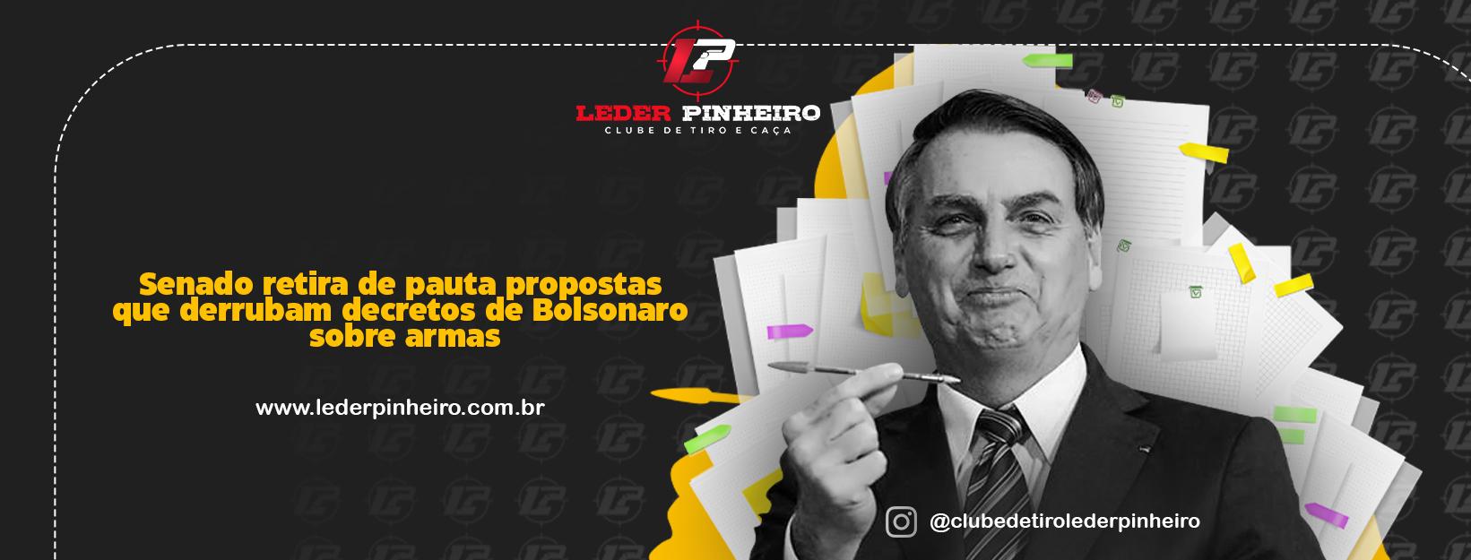 capa noticia bolsonaro senado - 9 abril 2021